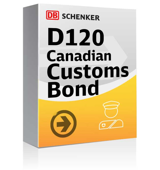Picture of D120 Customs Bond packaging